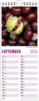 Picture of Kitchen Calendar K01 Purple