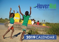 Picture of Hoveraid 2019 A4 Spiral Booklet Calendar