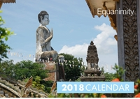 Picture of Equanimity - Mindfulness and Travel Themed Calendar