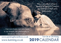 Picture of Kai Ming 2019 A5 Desk Calendar