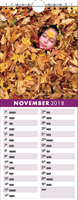 Picture of Kitchen Calendar K06 Purple