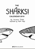 Picture of Life of Sharks 2019 A5 Portrait Desk Calendar