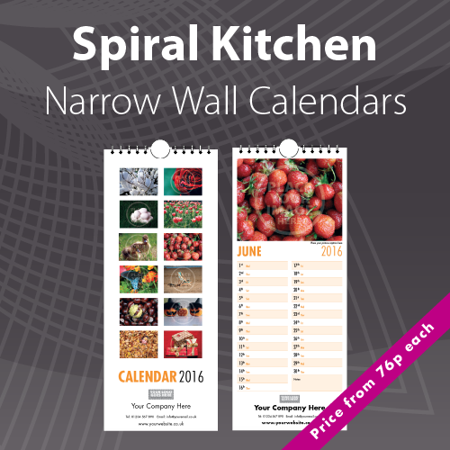 Personalised Kitchen Photo Calendars