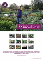 Picture of Charles Dowding Gardening Calendar 2018