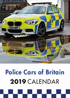 Picture of Police Cars of Britain 2019 A4 Calendar