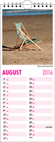Picture of Kitchen Calendar K01 Hot Pink