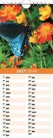 Picture of Kitchen Calendar K06 Orange