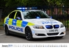 Picture of Police Cars of Britain 2019 Desk Calendar