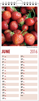 Picture of Kitchen Calendar K01 Burgundy