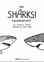 Picture of Life of Sharks 2019 A3 Calendar