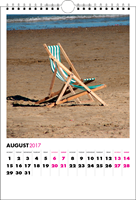Picture of Spiral Calendar S05 Hot Pink