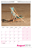 Picture of Spiral Calendar S11 Hot Pink