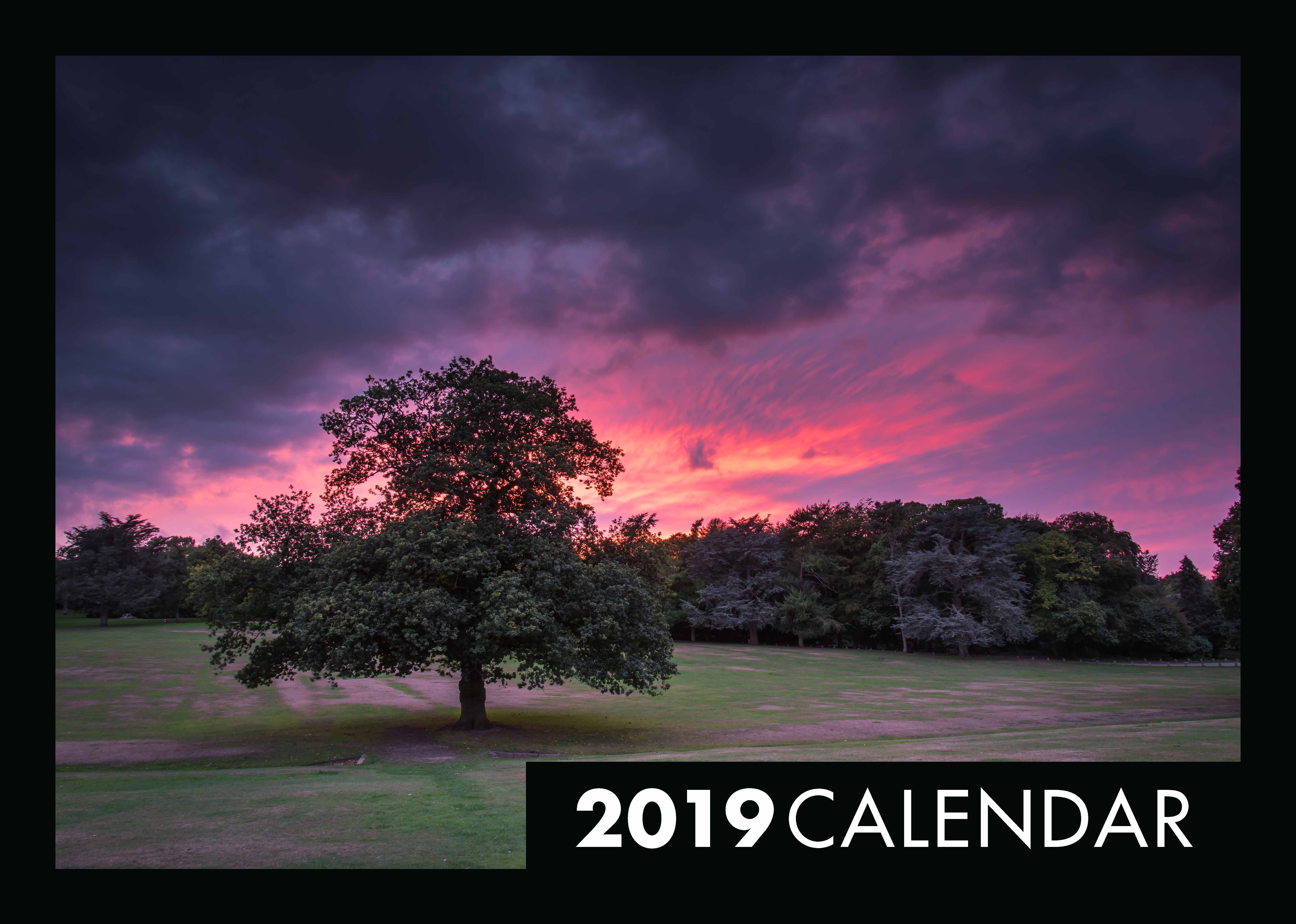 Picture of Simon Lea's Wareley Woods Calendar 2019