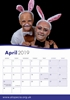 Picture of Alopecia UK 2019 A3 Calendar