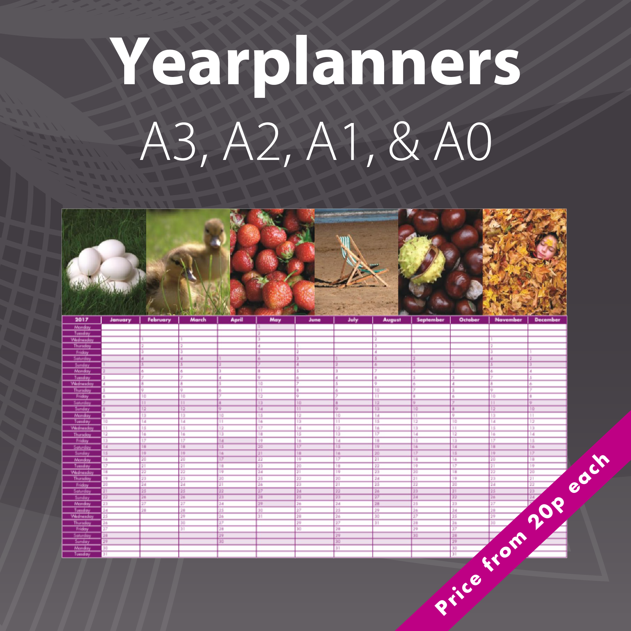 2020 Photo Yearplanners & Wallplanners