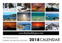 Picture of Island of Cyprus 2019 A5 Desk
