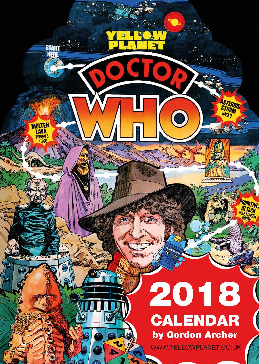 Picture of Nostalgic Doctor Who 2018 Calendar