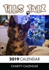 Picture of Charity Cat Calendar 2019 A5 Desk Calendar