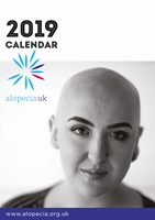 Picture of Alopecia UK 2019 A4 Calendar