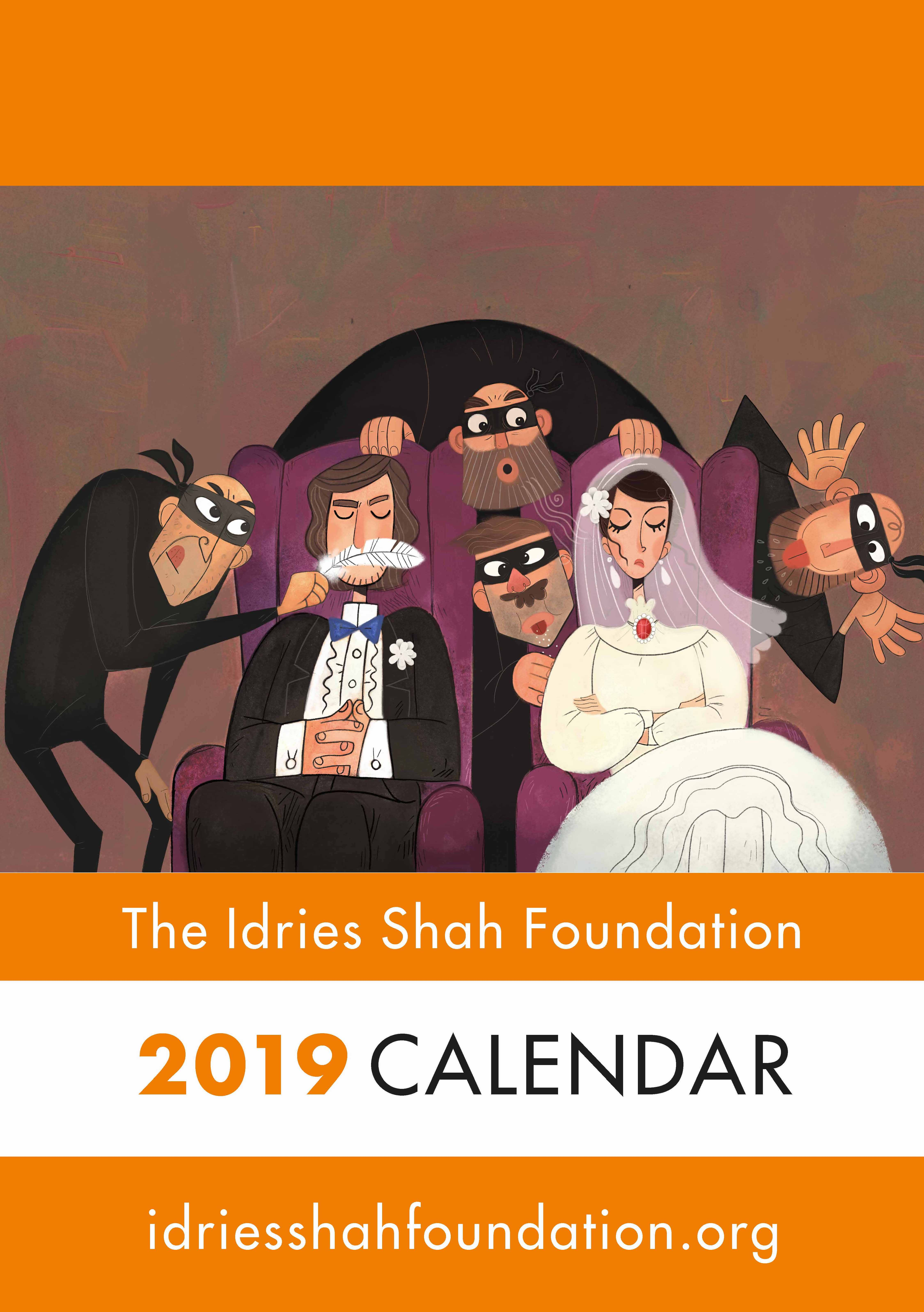 Picture of The Idries Shah Foundation  2019 A4 Calendar