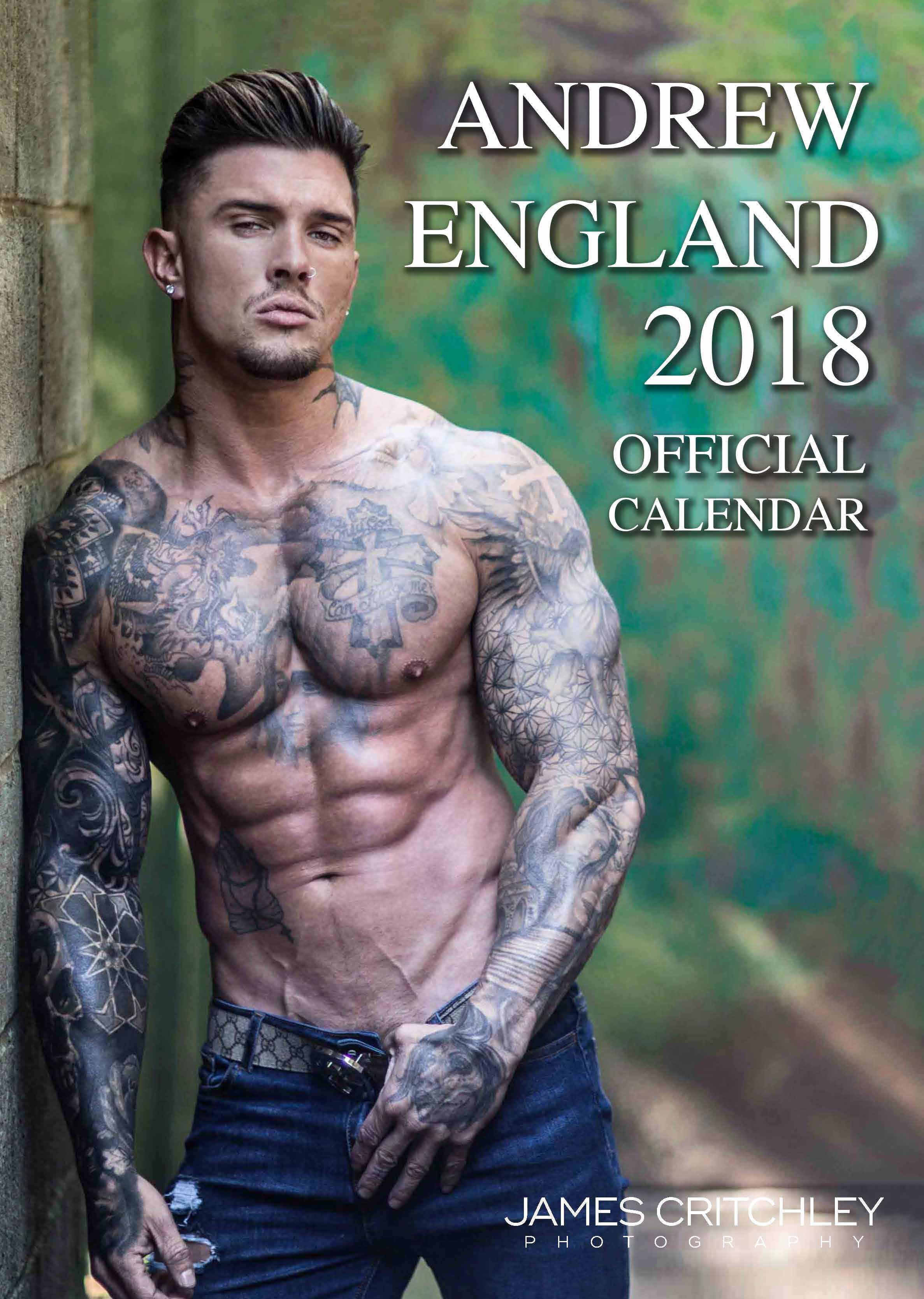 Picture of A4 Andrew England 2019 Calendar