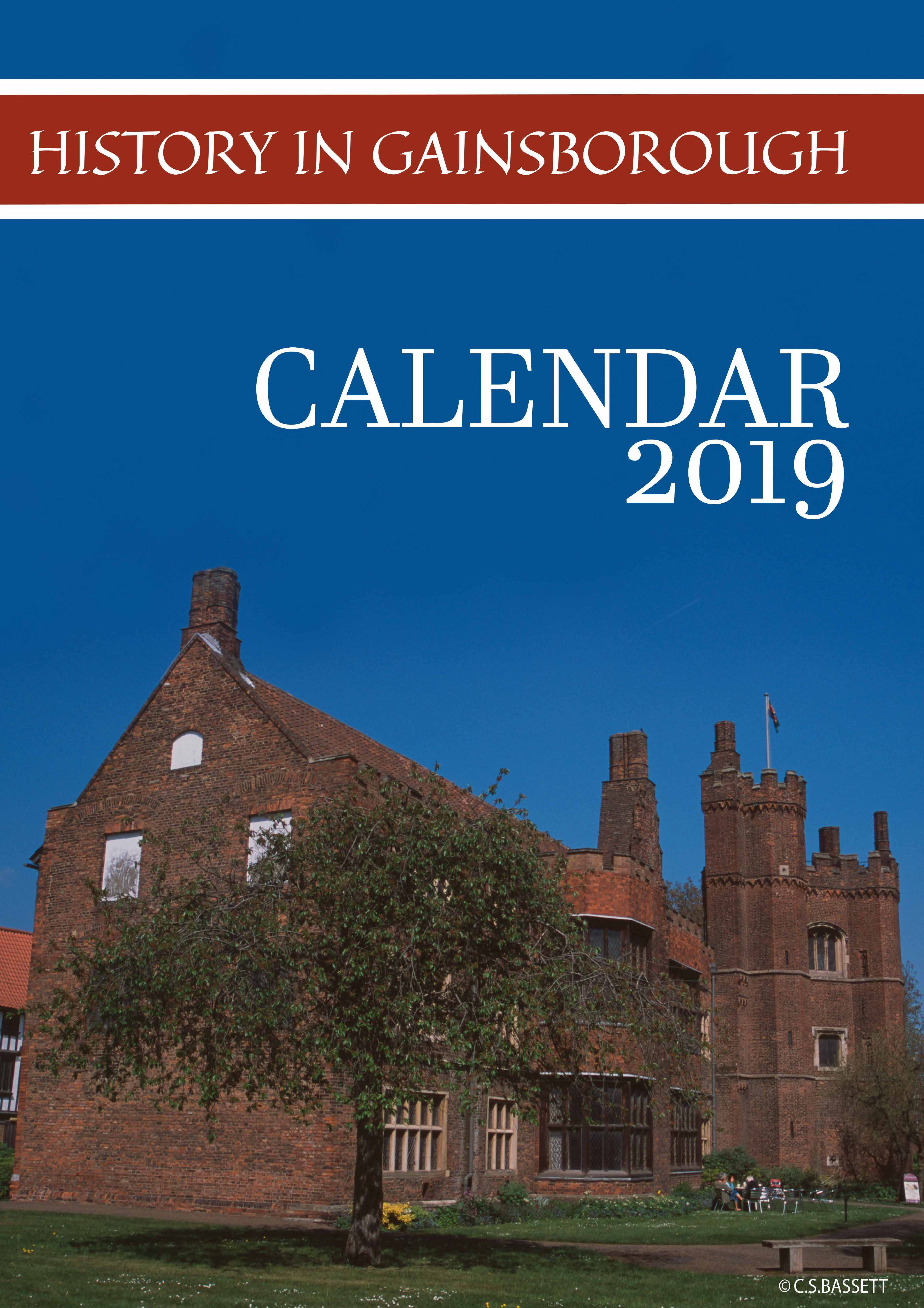 Picture of Gainsborough A5 Desk Calendar 2019